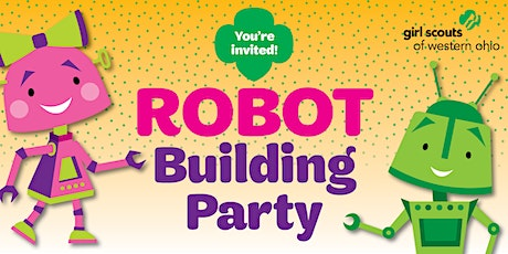 Join Mason Girl Scouts with a Robot Building Party! billets