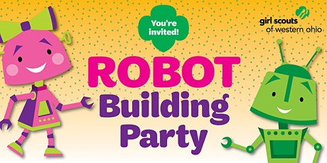 Join Mason Girl Scouts with a Robot Building Party! tickets