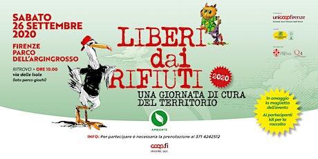 Liberi dai rifiuti 2020 al Parco dell'Argingrosso a Firenze biglietti