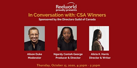 In Conversation with Canada Screen Award Winners  Presented by DGC National tickets
