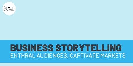 The Art of Business Storytelling | Adam LeBor tickets