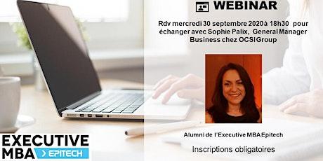 Guide pratique de l'EMBA Epitech : le retour d'expérience de Sophie PALIX ! billets