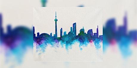 Toronto Skyline Paint Night (In-Studio) tickets