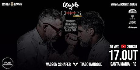 Clash of Chefs Tour RS Santa Maria ingressos