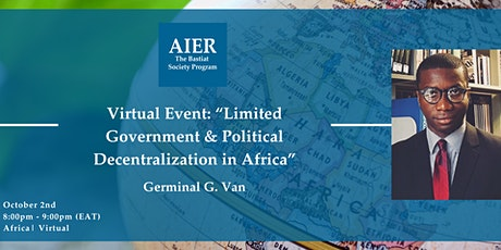 Pan-African Virtual Event: Limited Government & Political Decentralization tickets