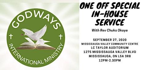 One Sunday Only with Rev Chuks Okoye tickets