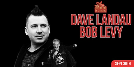 Comedy show Dave Landau and Bob Levy tickets