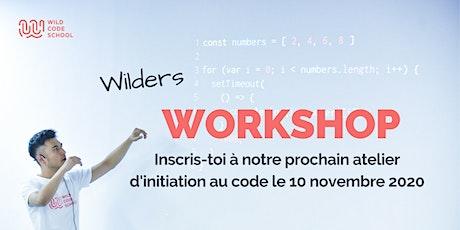 Atelier d'initiation au code billets