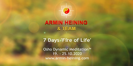 7 Days Dynamic Meditation tickets