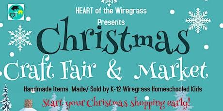 HEART of the Wiregrass Christmas Fair & Market tickets