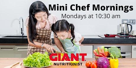 October VIRTUAL Mini Chef Mornings tickets