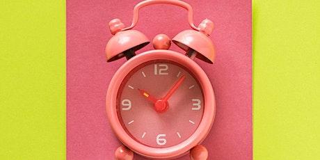 Time Management Study Skills Workshop tickets