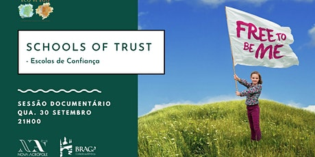 Documentário Eco vs Ego - Schools of Trust bilhetes