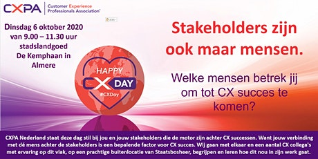 CX Day 2020 the Netherlands tickets