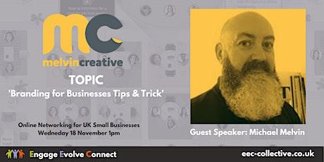 EEC Collective UK Online Networking - Speaker Michael Melvin tickets