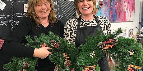 Luxury Christmas Wreath Making Workshop Dec 12th tickets
