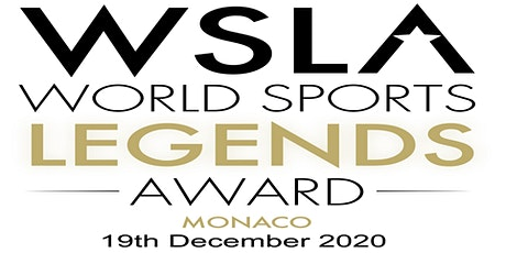 "5th ""World Sports Legends Award"" Ceremony with Gala Dinner and Show - WSLA billets"