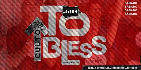 CULTO TO BLESS SETEMBRO ingressos