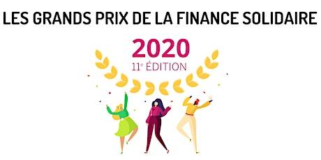 11è Grands Prix de la Finance solidaire billets