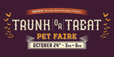2nd Annual Trunk or Treat Pet Faire tickets