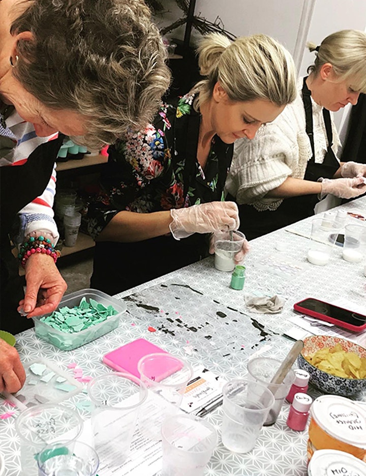 ADULT CRAFT WORKSHOP: Make Your own Eco-Resin Terrazzo Coasters 16th Feb image