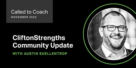 Called to Coach - CliftonStrengths Community Updates for November 2020