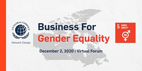 Business for Gender Equality 2020 tickets