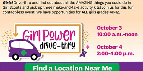 Girl Scouts Take & Make Drive Thru tickets