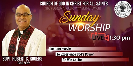 COGICFAS LIVE Worship Service tickets