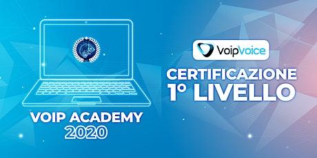 Corso di Certificazione Primo Livello VoipVoice