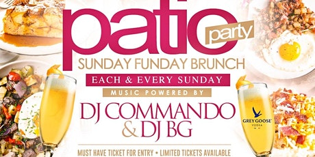 Sunday Funday Patio Brunch tickets