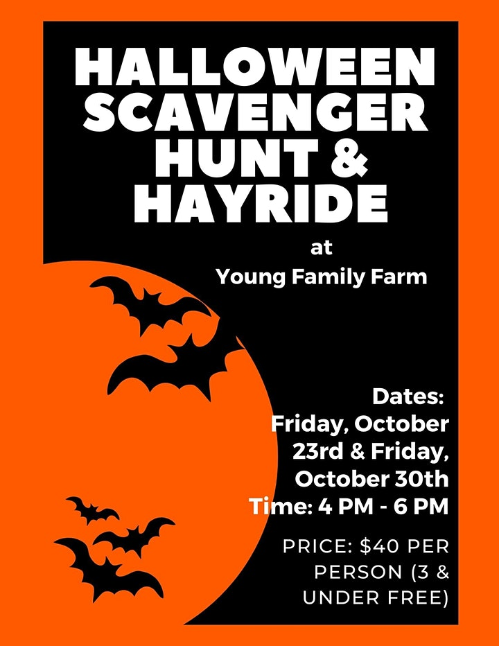 Halloween Scavenger Hunt & Hayride image