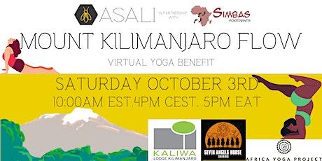 Asali Mount Kilimanjaro Flow Yoga Benefit tickets