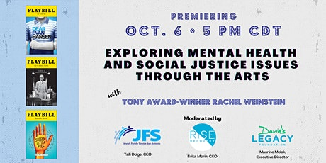 Exploring Mental Health & Social Issues Through the Arts tickets