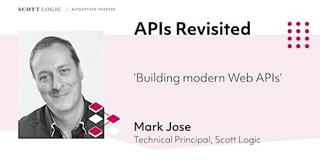 API Hour: Building modern Web APIs bilhetes