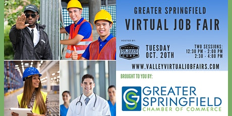 Greater Springfield | Virtual Job Fair (JOB SEEKERS) tickets