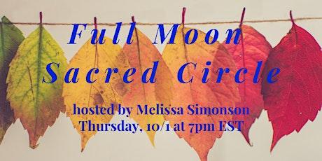 Full Moon Sacred Circle tickets