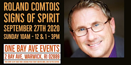 Roland Comtois -  Signs of Spirit  Rescheduled Rhode Island Healthy Living tickets