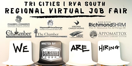 Tri-Cities | RVA South REGIONAL Virtual Job Fair (JOB SEEKERS) tickets