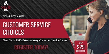 Customer Service Series 2020 (II) - Customer Service Strategies tickets