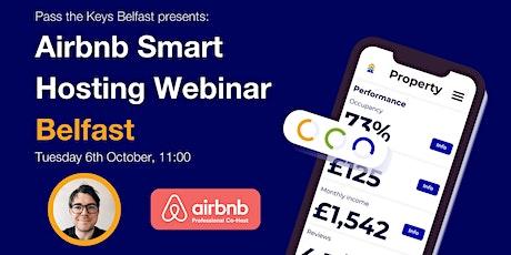 Airbnb Smart Hosting Webinar - Belfast tickets