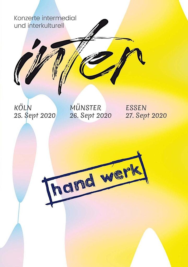 hand werk INTER - Konzert intermedial und interkulturell: Bild