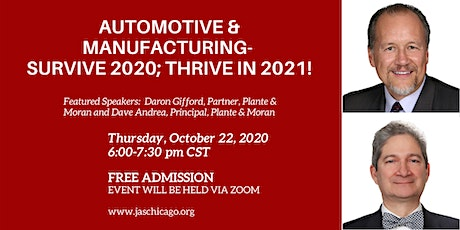 Automotive and Manufacturing tickets