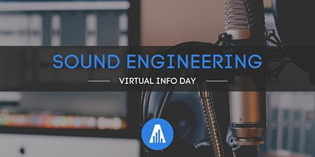 Virtual Sound Engineering Info Day στην SAE tickets