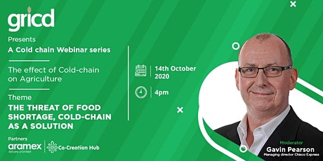 Gricd Cold Chain Webinar series 2 tickets