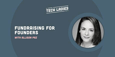 *Webinar* Fundraising for Founders tickets