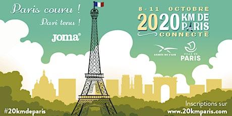 """Entrainement n°4 des 20km de Paris """"Connecté"""" billets"""
