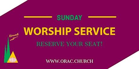 Sunday Worship Service - Week 15 tickets