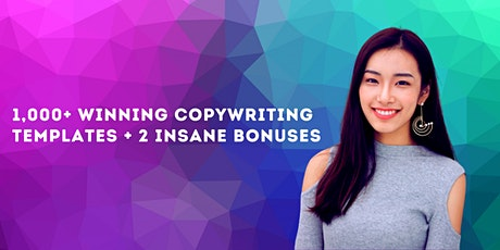 1,000+ Winning Copywriting Templates + FREE Course & Lifetime Support tickets