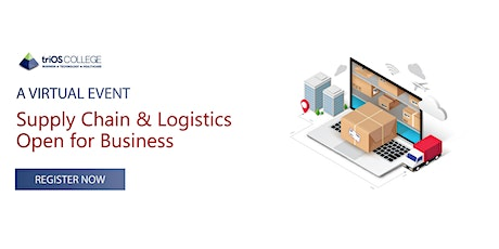 Supply Chain & Logistics - Open for Business tickets